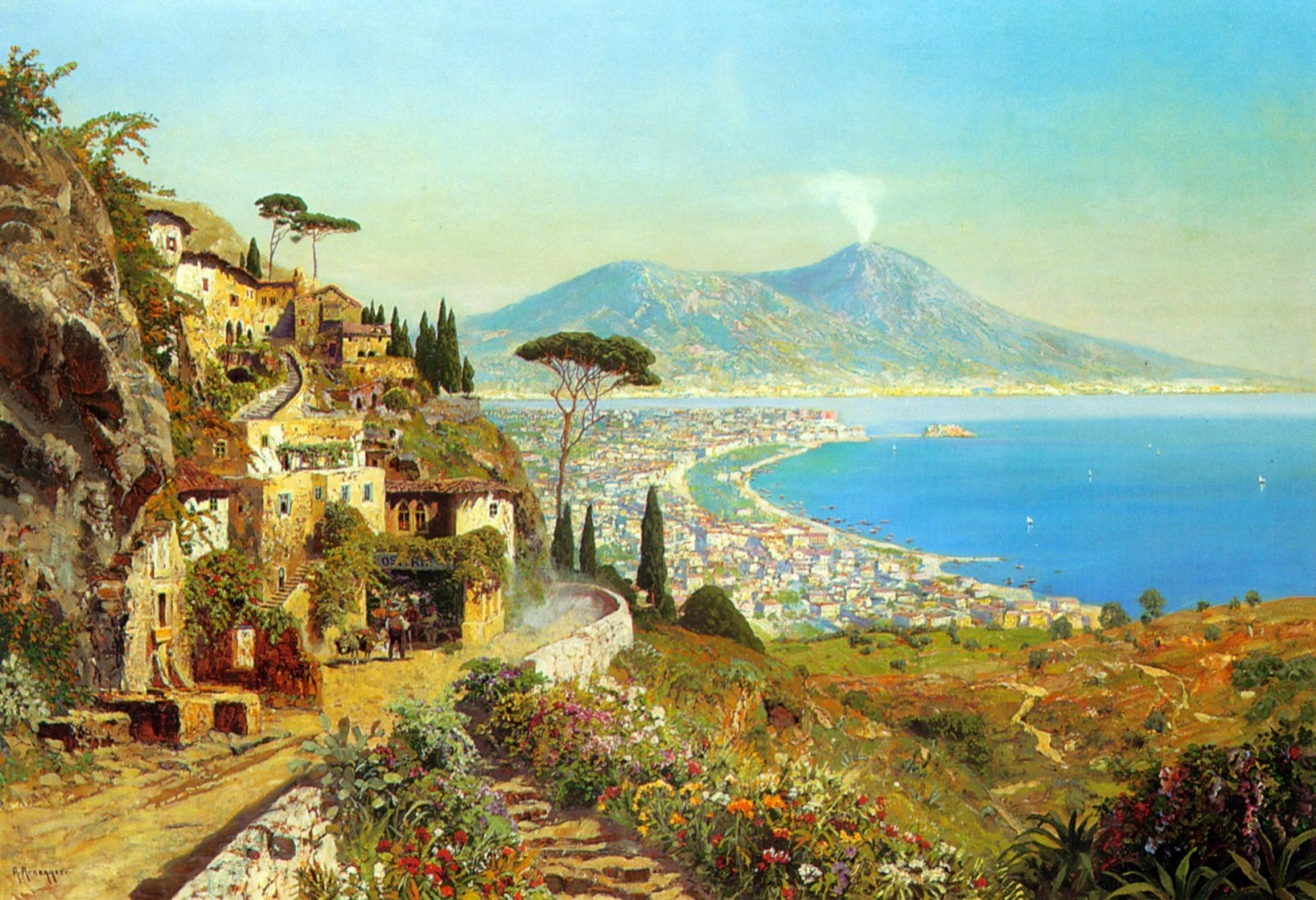 Alois Arnegger ~ Pintor de  belas paisagens
