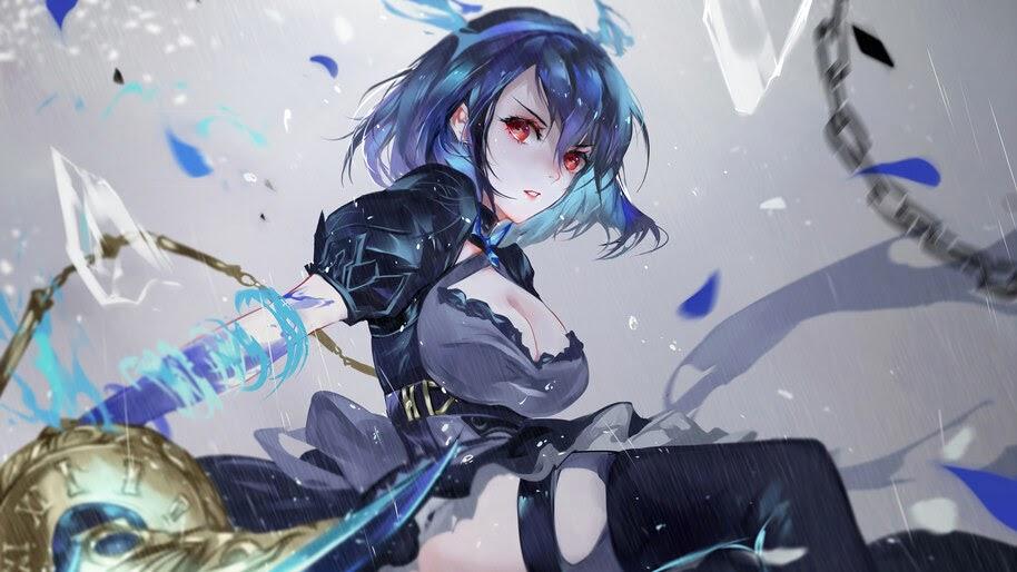 Beautiful, Anime, Girl, Sword, SINoALICE, Alice, 4K, #6.2366