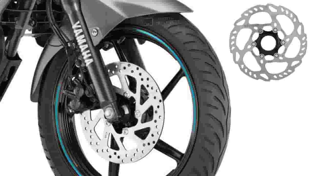 why there are holes in disc brakes