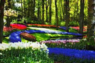 Сад Европы (Garden of Europe) – парк Кёкенхоф