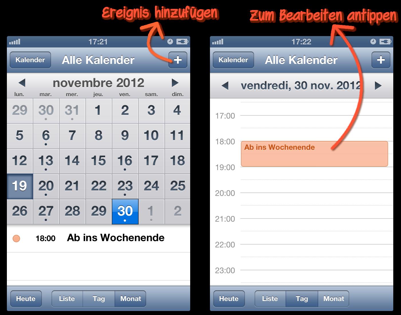 iphone kalender feiertage löschen
