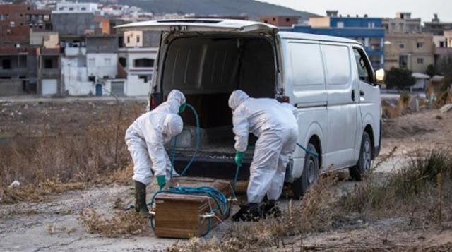 بروتوكول صحي جديد لدفن موتى فيروس كورونا