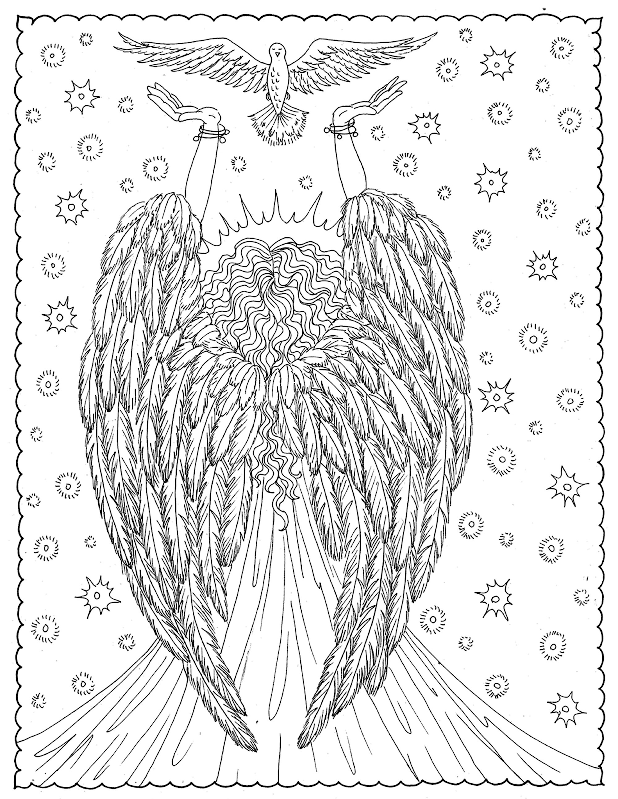 Zeichnen Lernen Engel Malen