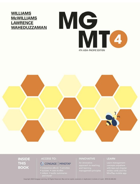MGMT4 with MindTap, 4th Edition