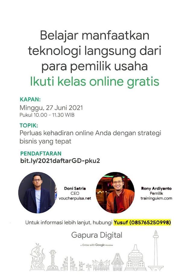Program Grow with Google, Pelatihan Digital Marketing dari GOOGLE (GRATIS)