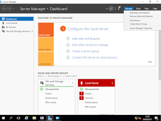 Konfigurasi Active Directory di Windows Server 2016