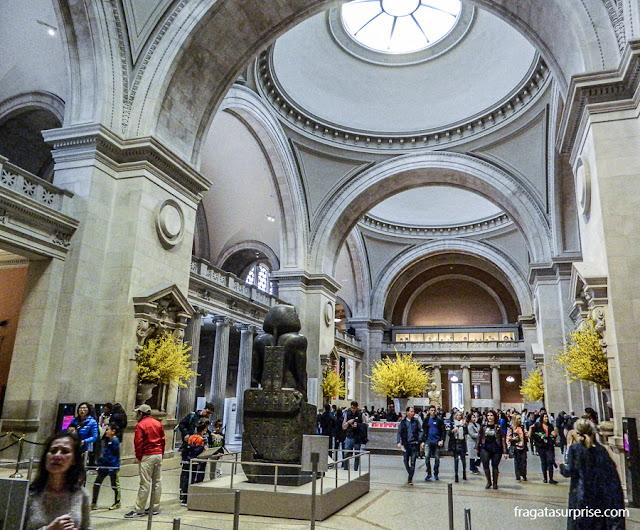 Hall de entrada do Museu Metropolitan de Nova York