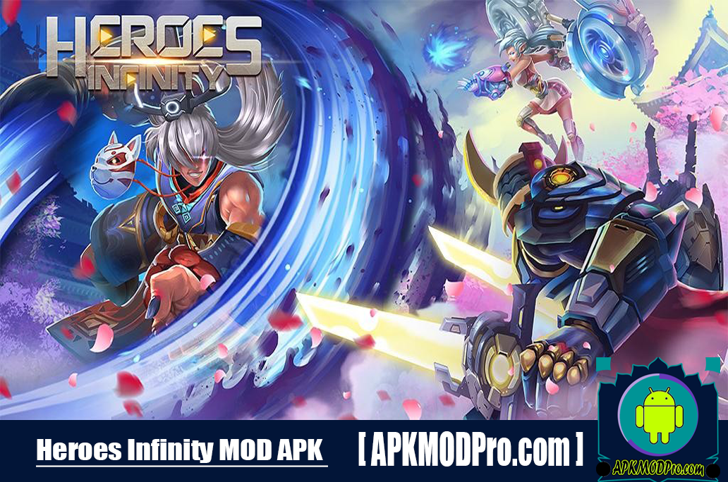 Heroes Infinity MOD APK 1.30.12L (MOD Unlimited Money) For Android