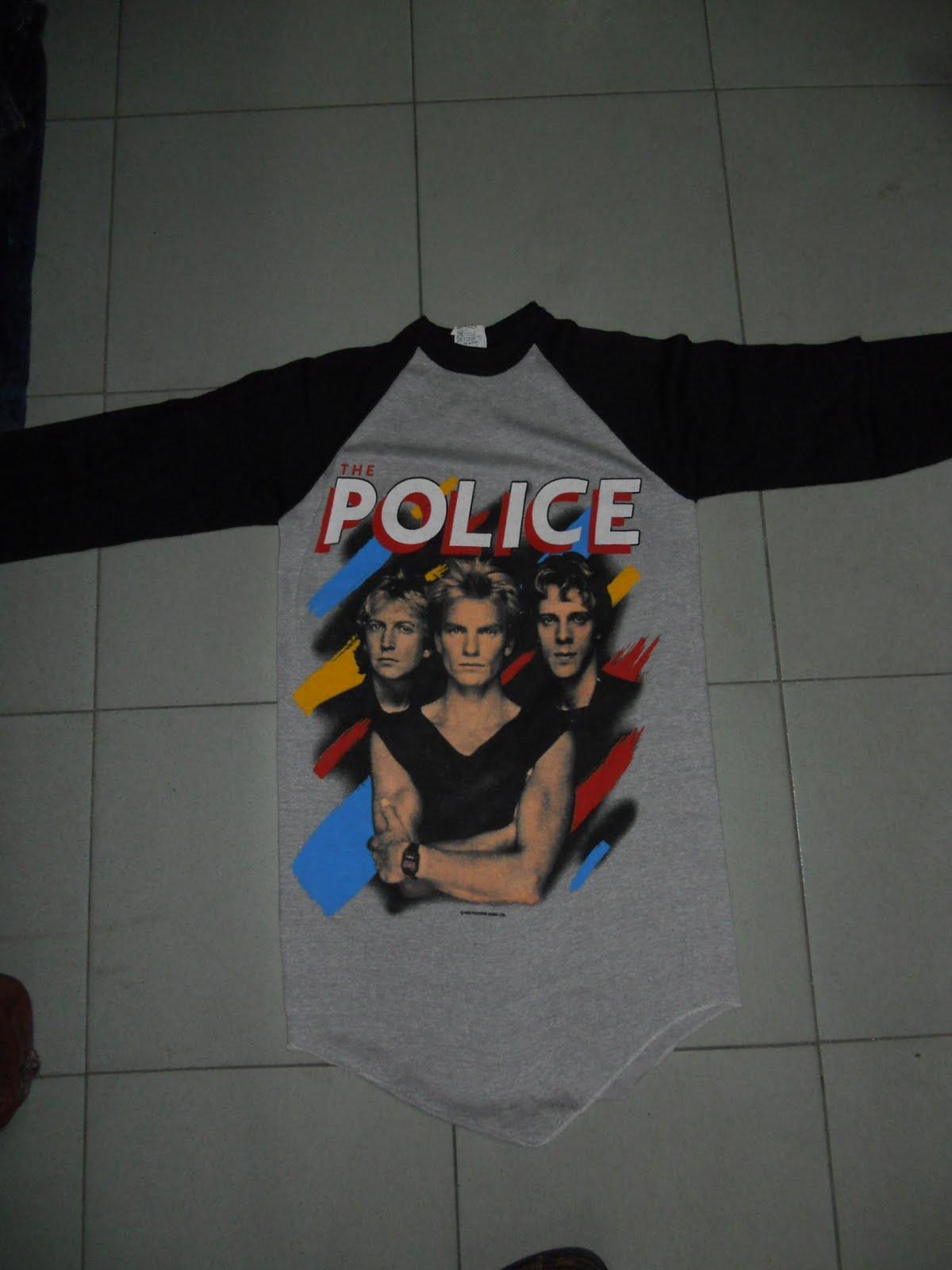 Daftar Harga Tendencies Tshirt Punk Rock Hitam S Update 2018 Emba Jeans Inoray Jacket Warna Stone Tembaga Xl Trend Bundle August 2011 Vtg The Police Band 83 50