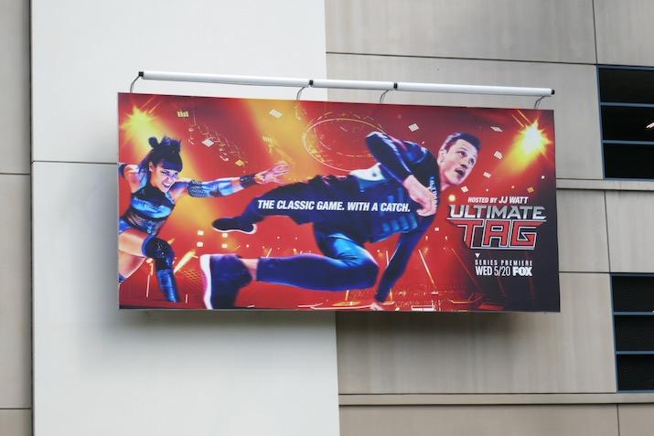 Ultimate Tag TV series billboard