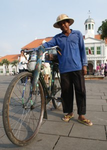 Diary Adam, Sepeda Tua, Ayah