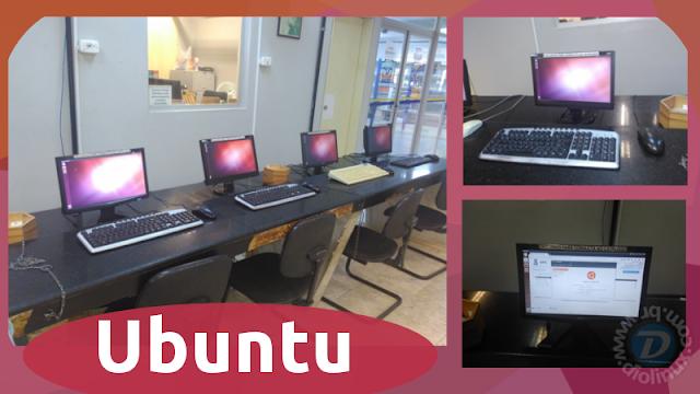 Ubuntu é utilizado em Bibliotecas da UFS