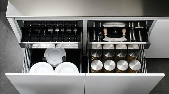 Accesorios para cajones de cocina cocinas con estilo for Accesorios para cocinas pequenas