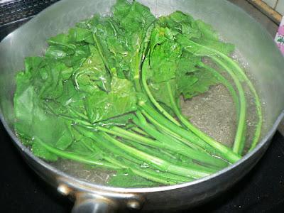青菜ボイル