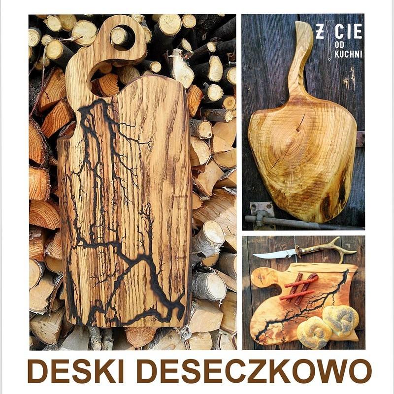 konkurs, deseczkowo, deski drewniane, figury lichtenberga na drewnie, zdobienie drewna,zycie od kuchni