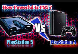 PlayStation 5 vs PlayStation 4, how powerful is  the PS5