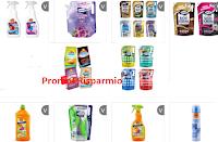 Logo Buoni sconto da stampare Strabilia detergenti, Madeleine Cereal, MilMil ( oltre 20 coupon)