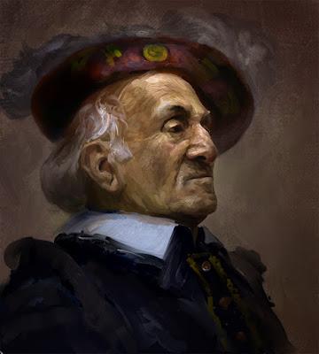 Frederigo De' Frederighi (portrait by Andrei-Pervukhin)