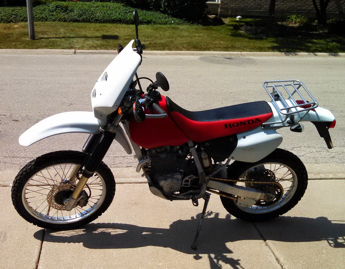 VTR250 org • View topic - 2002 XR250R - Before & After