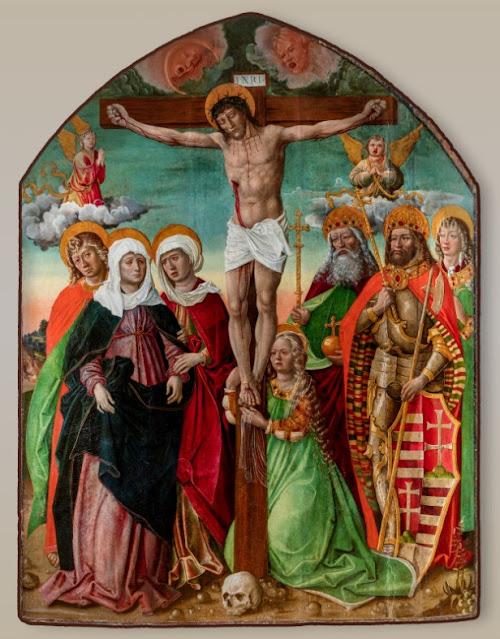Croatia - Hungary, 800 Years of Common Heritage: Gianfrancesco de Tolmezzo, Crucifixion, c. 1505, Croatia