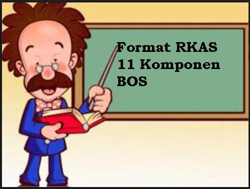 Format RKAS 11 Komponen BOS