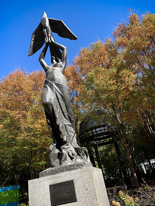 The Phoenix in Woodruff Park - Photo: Travis Swann Taylor