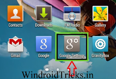 Open android device manager android
