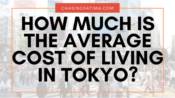 How much is the cost of living in Tokyo Japan
