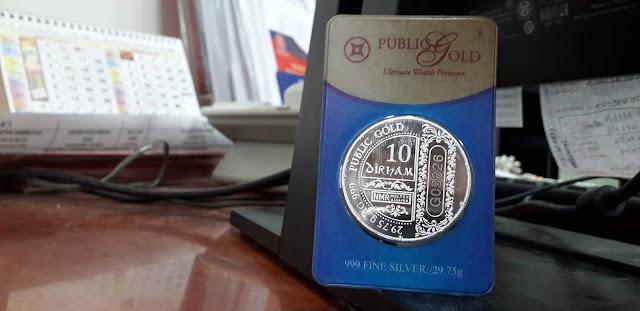 Seronoknya Membeli Jongkong @ Dinar Emas Jenama Public Gold