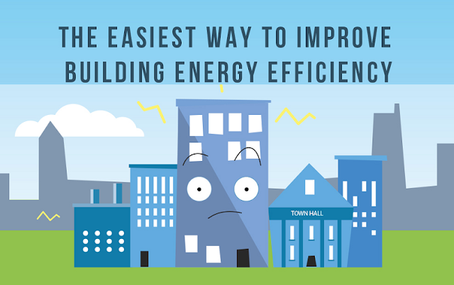 The Easiest Way To Improve Building Energy Efficiency  #Infographic
