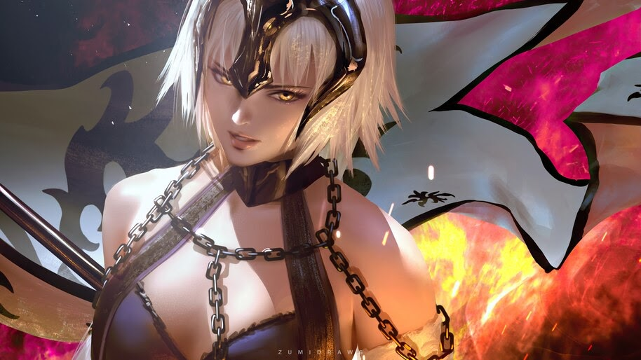 Jeanne d'Arc, Alter, Fate/Grand Order, 4K, #6.2304