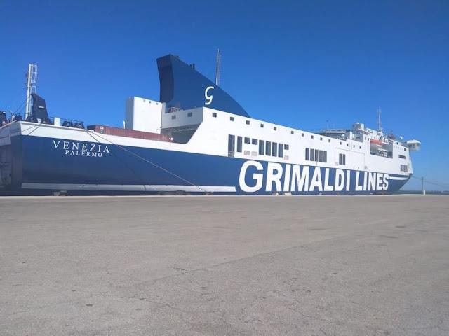 Με το πλοίο Venezia ενισχύει τη γραμμή Βενετία – Ηγουμενίτσα – Πάτρα ο όμιλος Grimaldi