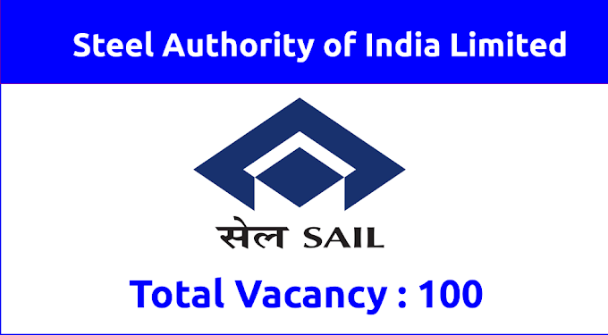 Steel Authority of India Limited Recruitment