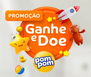 Cadastrar Promoção PomPom Ganhe e Doe 1 Ano Fraldas Grátis Todo Dia
