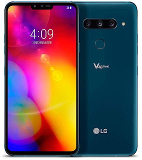 LG V40 ThinQ with 5 cameras, 6.4-inch P-OLED display, specifications, design and features