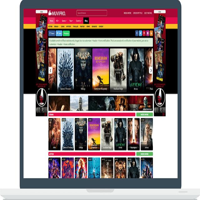 Muvipro Theme WordPress