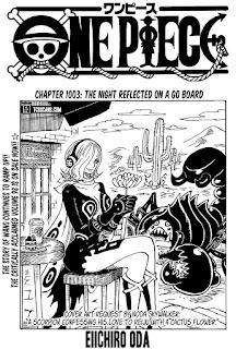 Update! Read One Piece Manga Chapter 1003 English