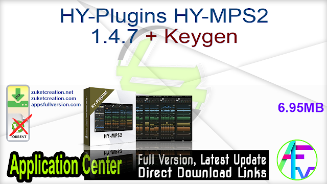 HY-Plugins HY-MPS2 1.4.7 + Keygen