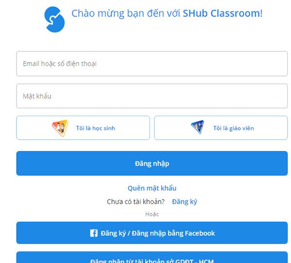 Tải SHub Classroom - Học trực tuyến trên điện thoại và máy tính a9