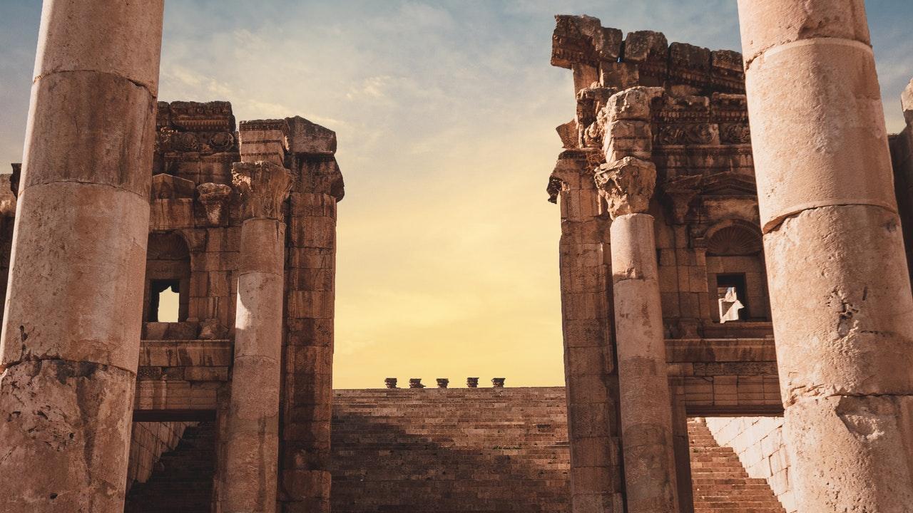 construcción romana antigua