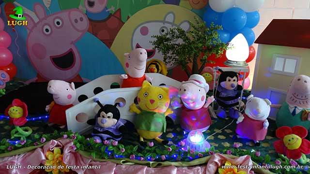 Decoração infantil Peppa Pig - Decoração de aniversário