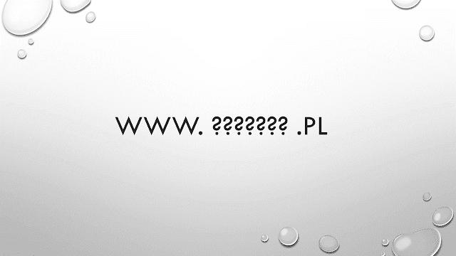 zmiana domeny na blogspot