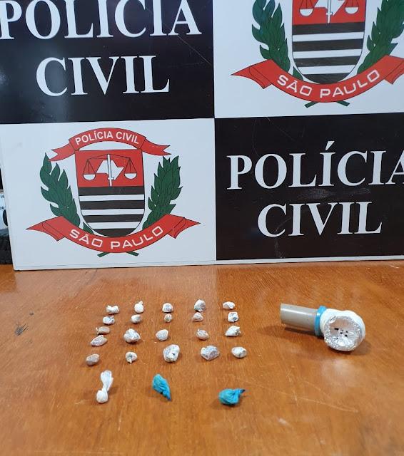 Policia Civil prende homem que mantinha bar de fachada para vender droga