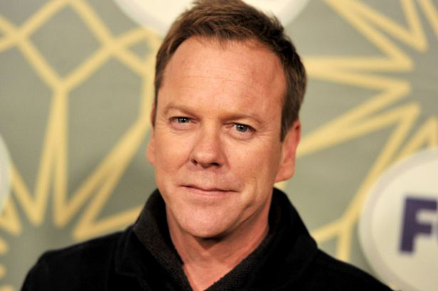 El actor Kiefer Sutherland