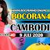 Bocoran Misteri 4D Cambodia 9 Juli 2020