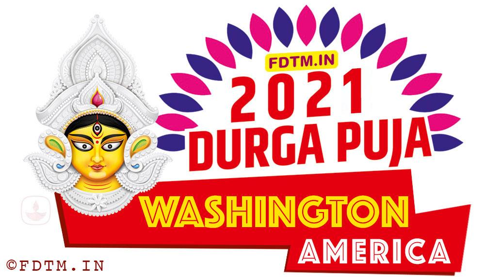 2021 Washington Durga Puja Calendar, 2021 America Durga Puja Calendar