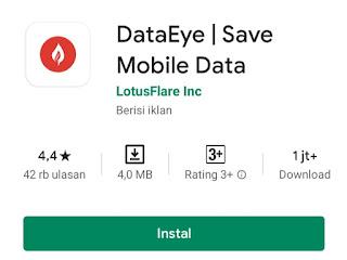 Aplikasi android untuk menghemat kuota data internet