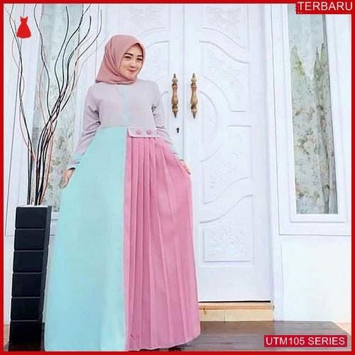 UTM105H67 Baju Hatifa Muslim Maxi UTM105H67 069 | Terbaru BMGShop