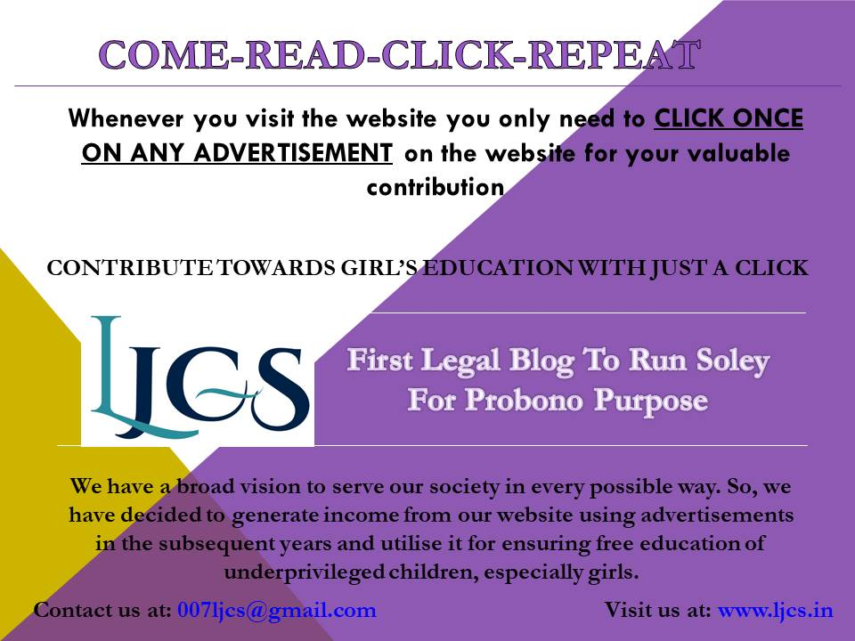 LJCS: Legal Journal for Contemporary Society