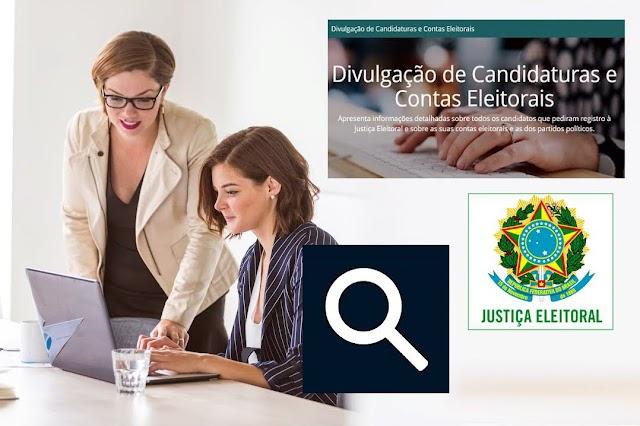 SITUAÇÃO DAS CANDIDATURAS DA SUA CIDADE NO DivulgaCandContas